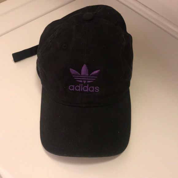 adidas Accessories - black and purple adidas hat b1acbc1fb28